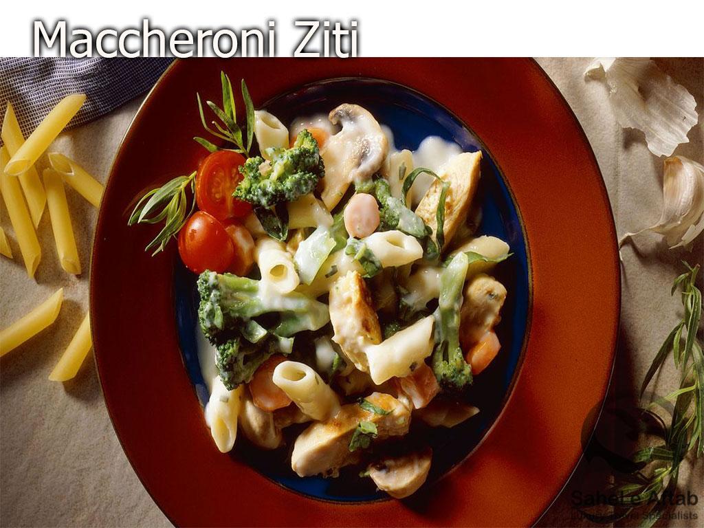 maccheroni-Ziti