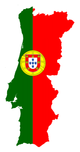 Portugal Map Flag-263417