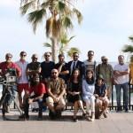 افتخار همکاری ساحل افتاب با اقای علیرضا رییسیان در فیلم مرد بدون سایه- اسپانیا