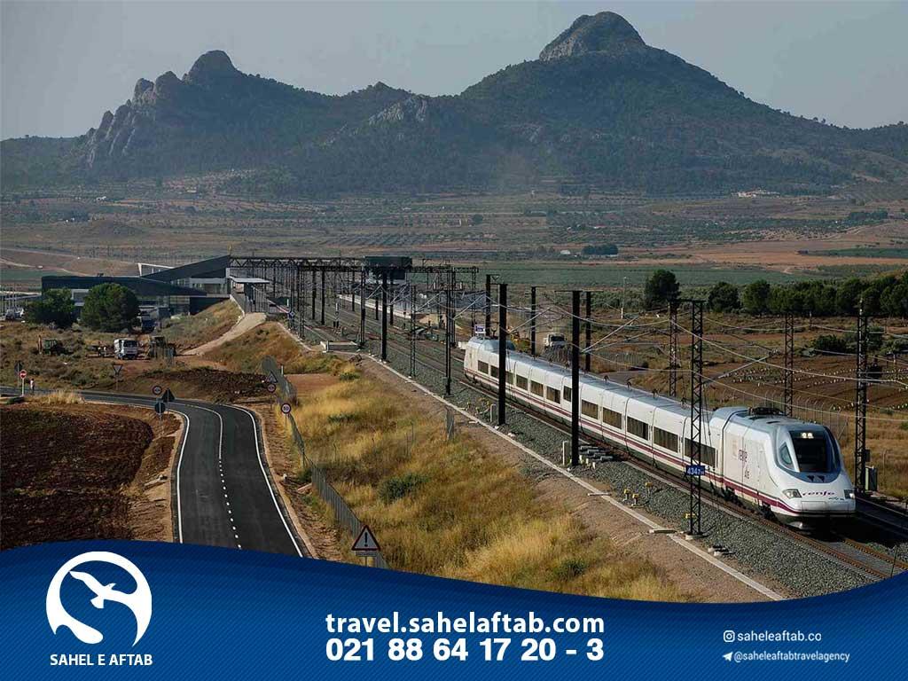 مسافرت ریلی به اسپانیا