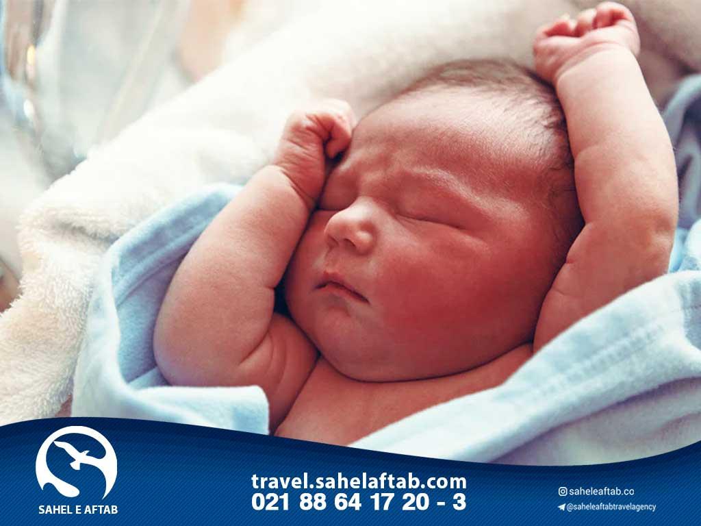 اقامت یونان از طریق تولد