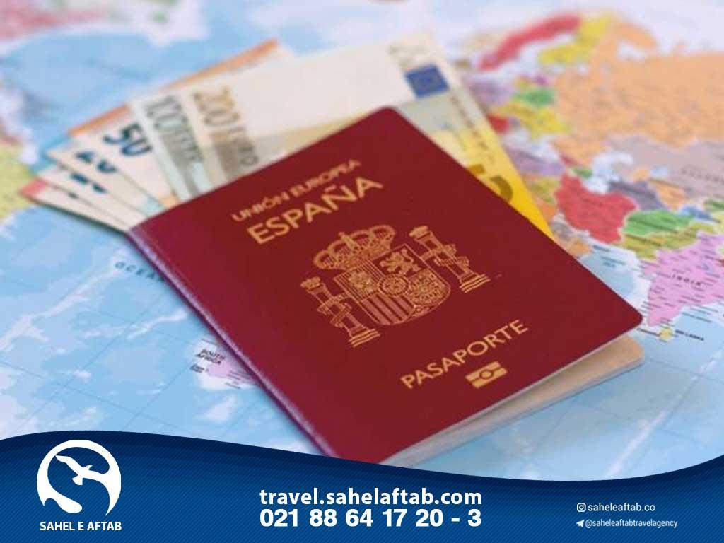 اخد اقامت اسپانیا از طریق تمکن مالی