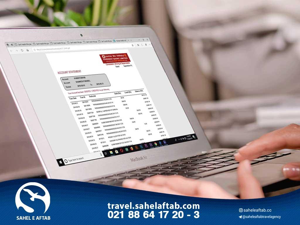 دریافت تمکن مالی برای اقامت اسپانیا